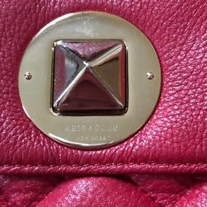 kate spade Bags - Kate Spade Red Leather Crossbody